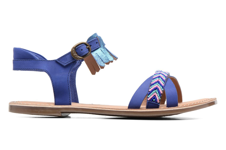 Sandales et nu-pieds Kickers Dixie Bleu vue derrière