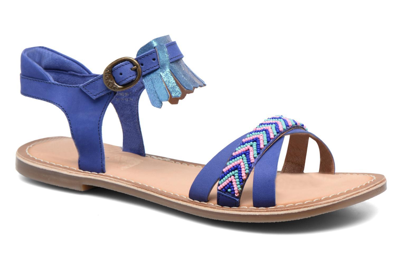 Sandales et nu-pieds Kickers Dixie Bleu vue détail/paire