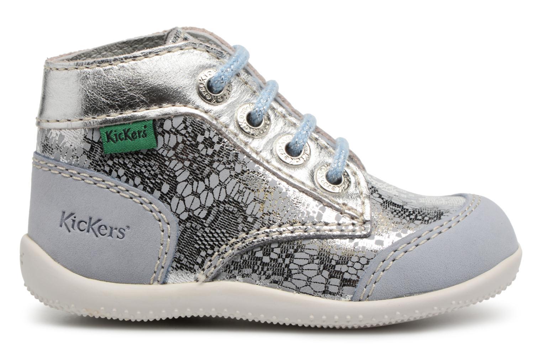 Chaussures à lacets Kickers Boetik Bleu vue derrière