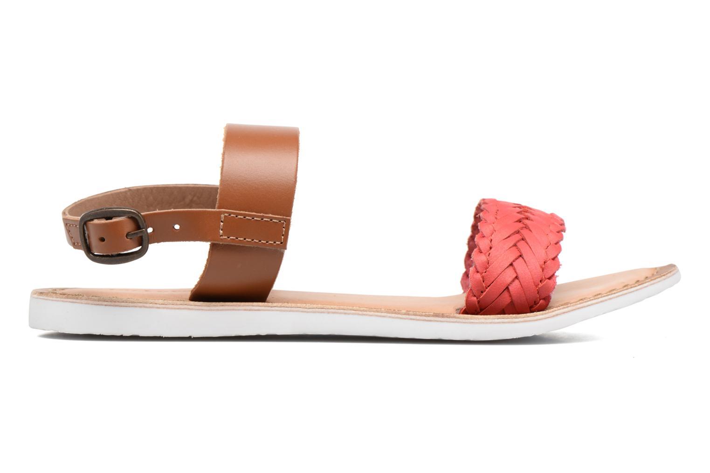 Sandales et nu-pieds Kickers Sporia Rose vue derrière