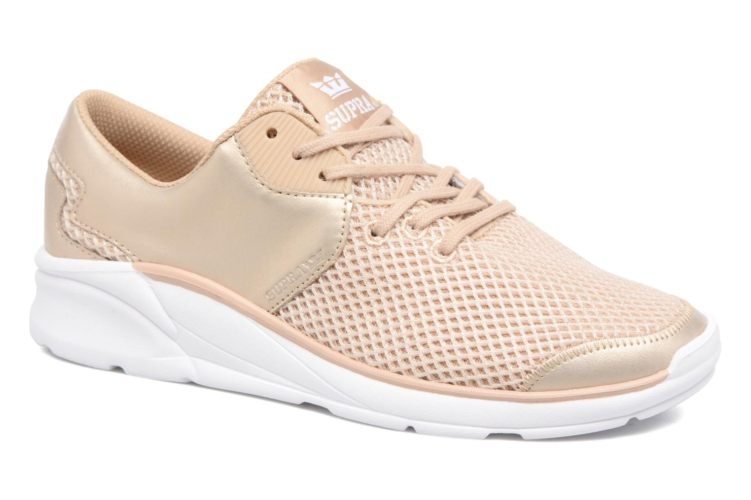 Baskets Supra Women's noize Or et bronze vue détail/paire