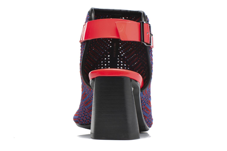 Bottines et boots United Nude Zink Fab Mid Multicolore vue droite