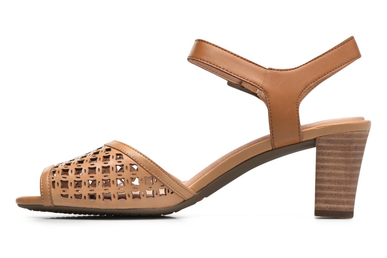 Sandales et nu-pieds Rockport Audrina Laser 2 Piece Marron vue face
