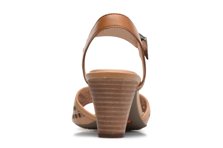 Sandales et nu-pieds Rockport Audrina Laser 2 Piece Marron vue droite