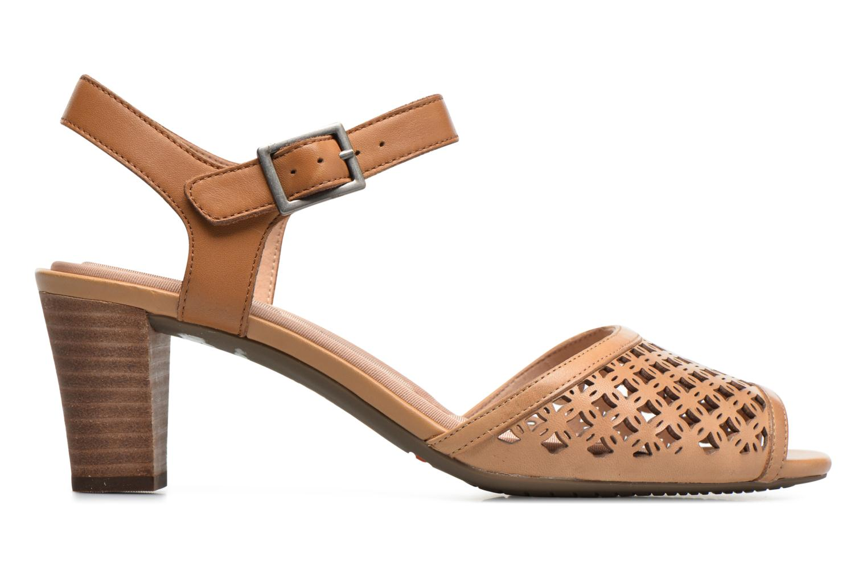 Sandales et nu-pieds Rockport Audrina Laser 2 Piece Marron vue derrière