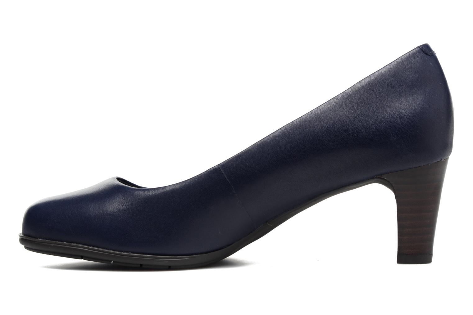 Escarpins Rockport Melora Plain Pump Bleu vue face