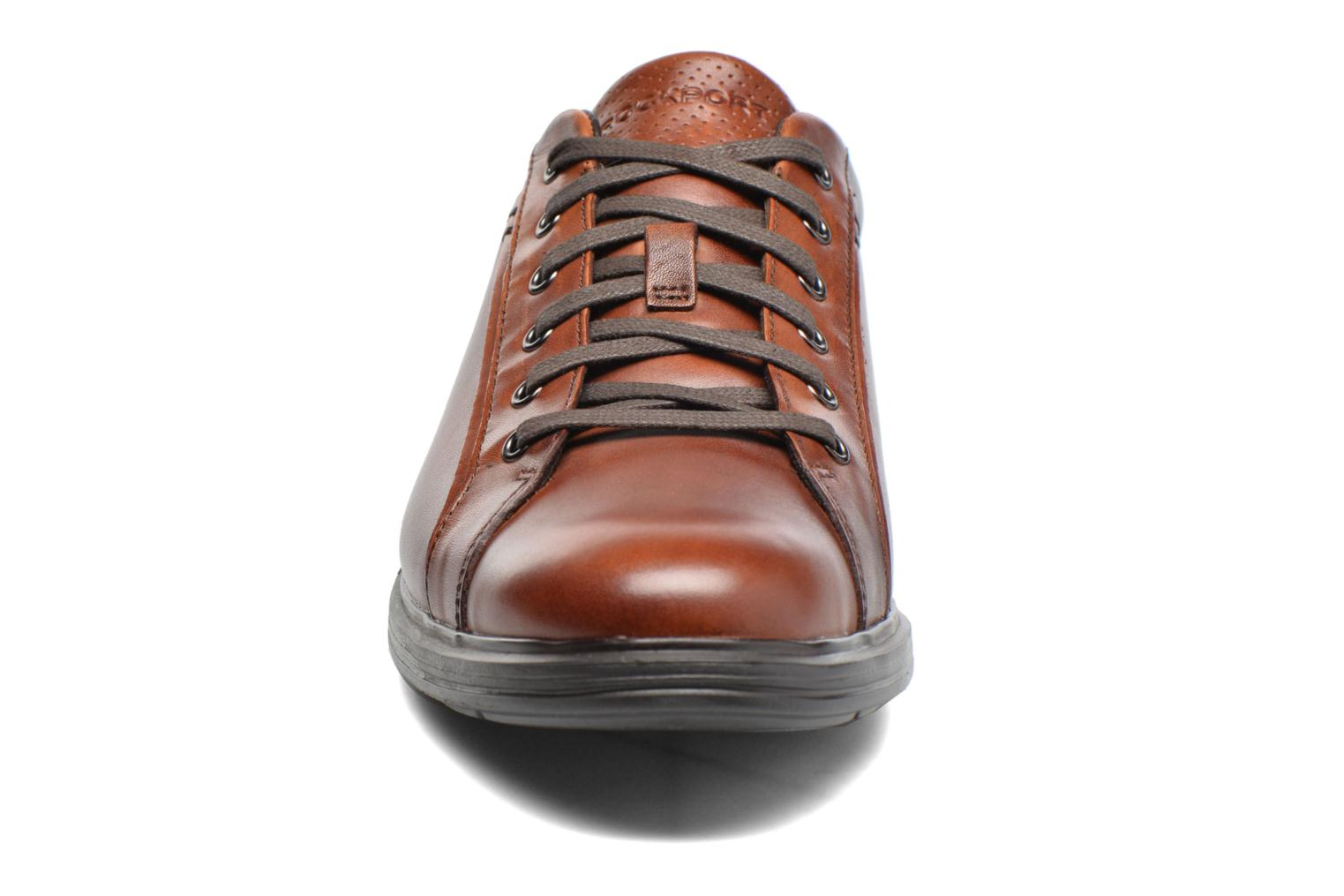 Dp2 Lite Lace Up Brown leather