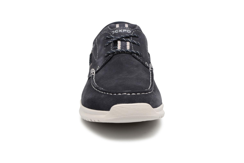 Chaussures à lacets Rockport Langdon 3 Eye Ox Bleu vue portées chaussures