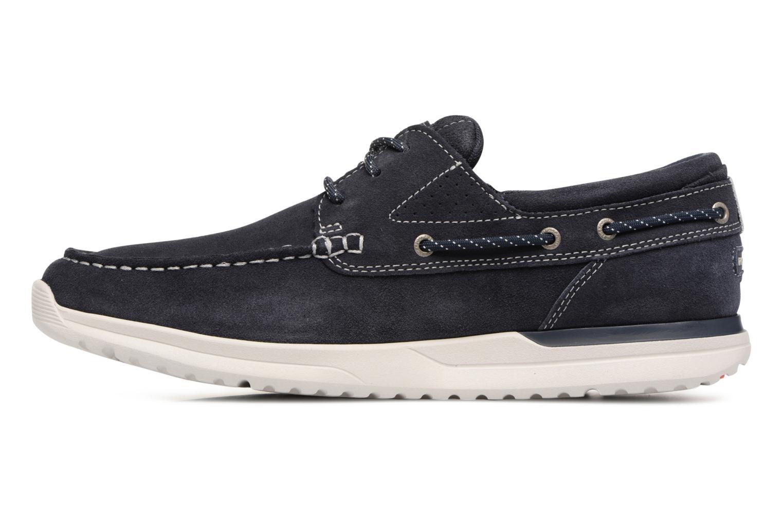 Chaussures à lacets Rockport Langdon 3 Eye Ox Bleu vue face