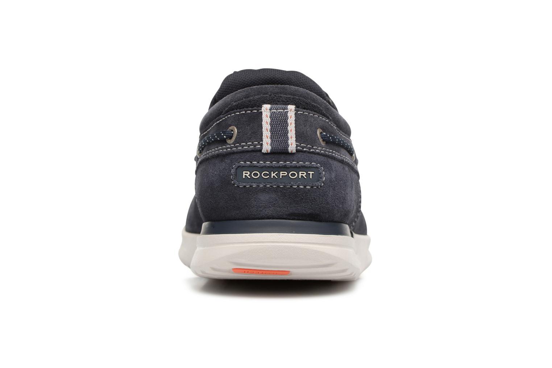 Chaussures à lacets Rockport Langdon 3 Eye Ox Bleu vue droite
