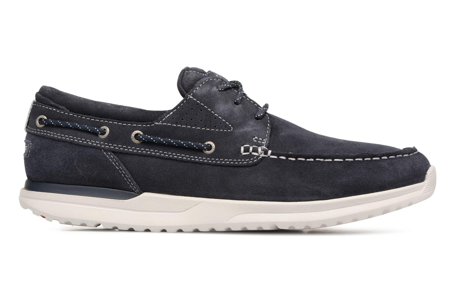 Lace-up shoes Rockport Langdon 3 Eye Ox Blue back view