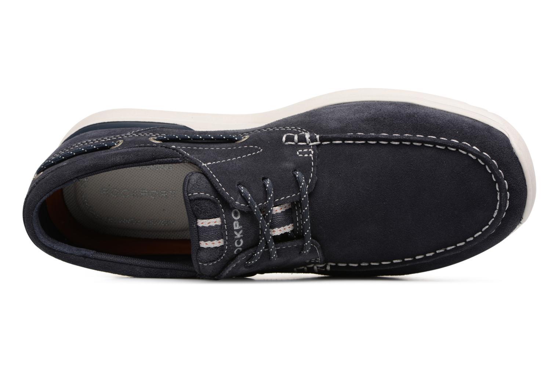 Chaussures à lacets Rockport Langdon 3 Eye Ox Bleu vue gauche