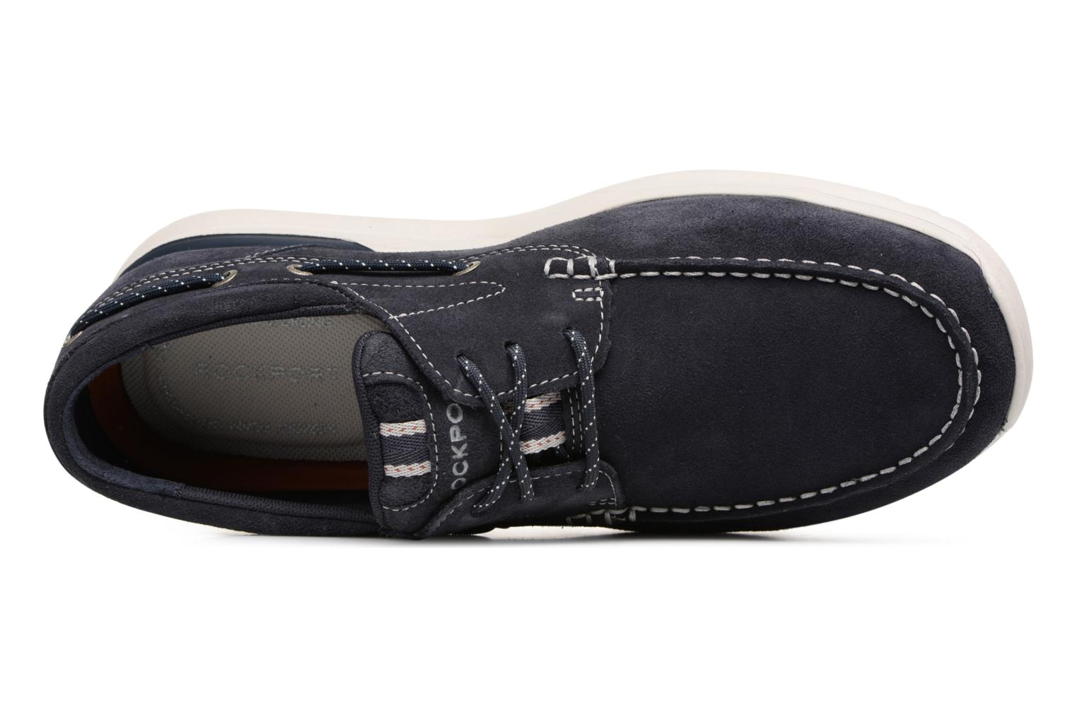 Lace-up shoes Rockport Langdon 3 Eye Ox Blue view from the left