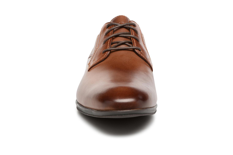 Chaussures à lacets Rockport Sc Plain Toe Marron vue portées chaussures
