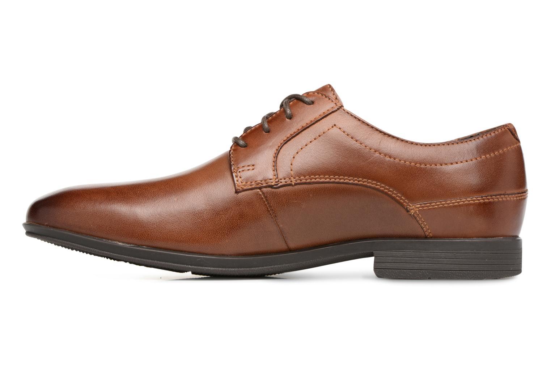 Chaussures à lacets Rockport Sc Plain Toe Marron vue face