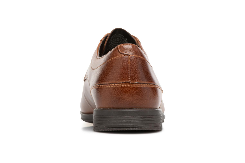 Chaussures à lacets Rockport Sc Plain Toe Marron vue droite