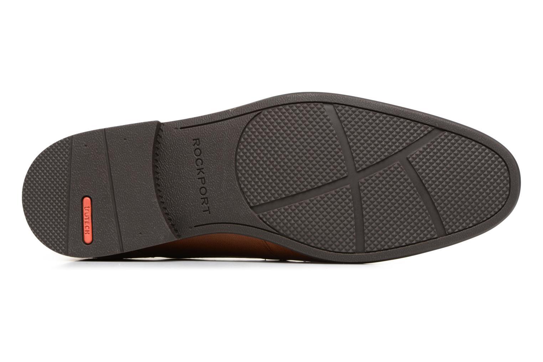 Chaussures à lacets Rockport Sc Plain Toe Marron vue haut