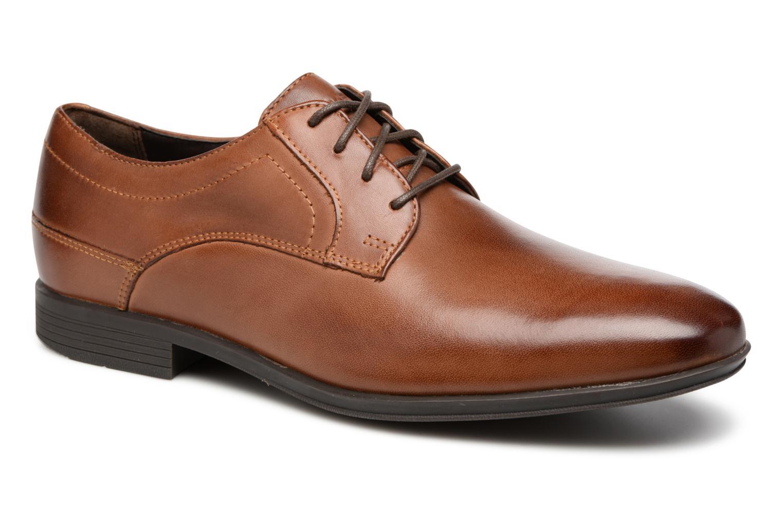Chaussures à lacets Rockport Sc Plain Toe Marron vue détail/paire