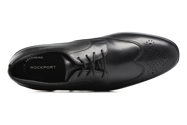 Chaussures à lacets Rockport Sc Wingtip Noir vue gauche