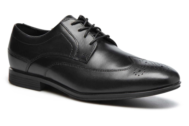 Chaussures à lacets Rockport Sc Wingtip Noir vue détail/paire