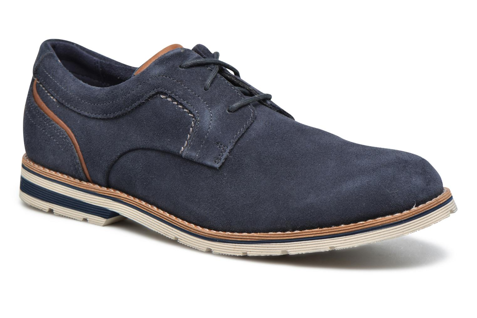 Statford Plain Toe New Dress Blues Suede