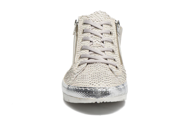 Baskets Khrio Fiona Blanc vue portées chaussures