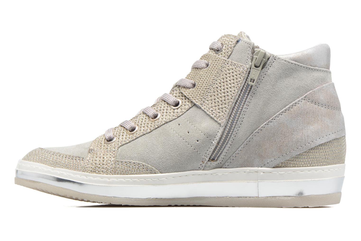 Trainers Khrio Calista Silver front view