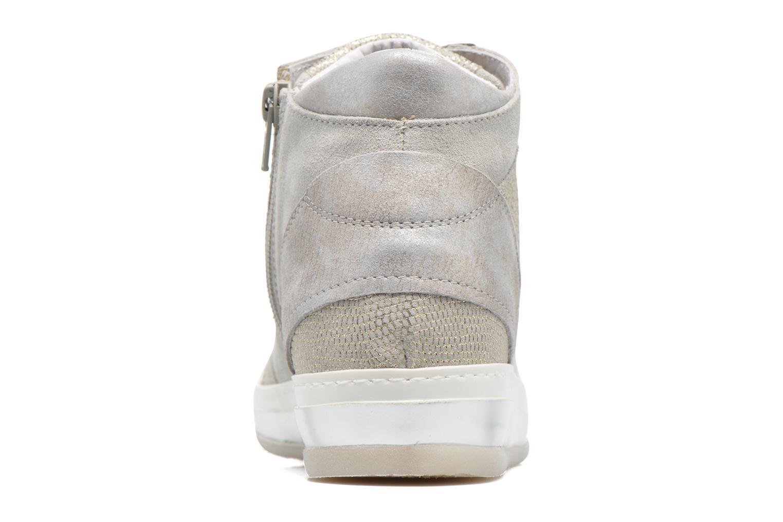 Sneakers Khrio Calista Zilver rechts