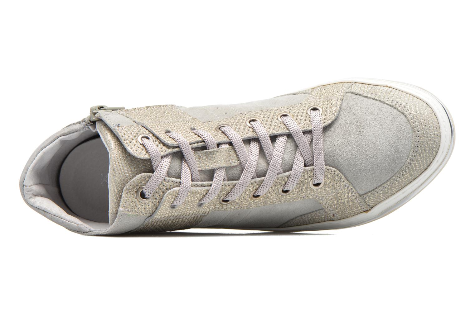 Trainers Khrio Calista Silver view from the left