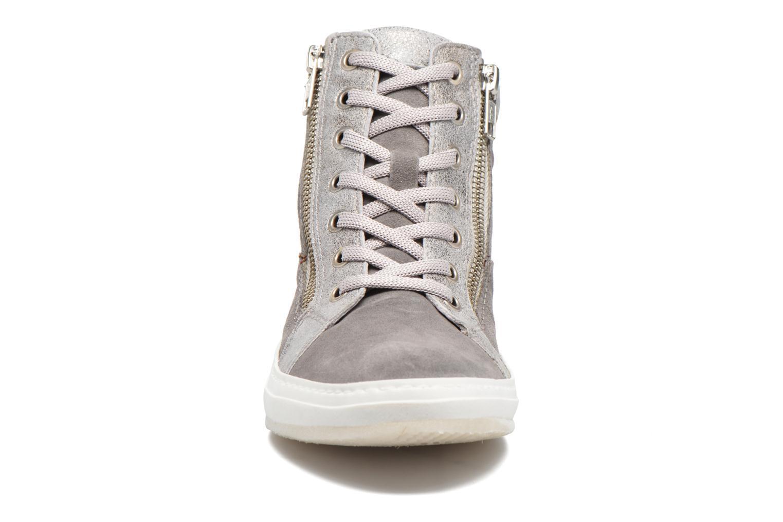 Baskets Khrio Calypso Gris vue portées chaussures