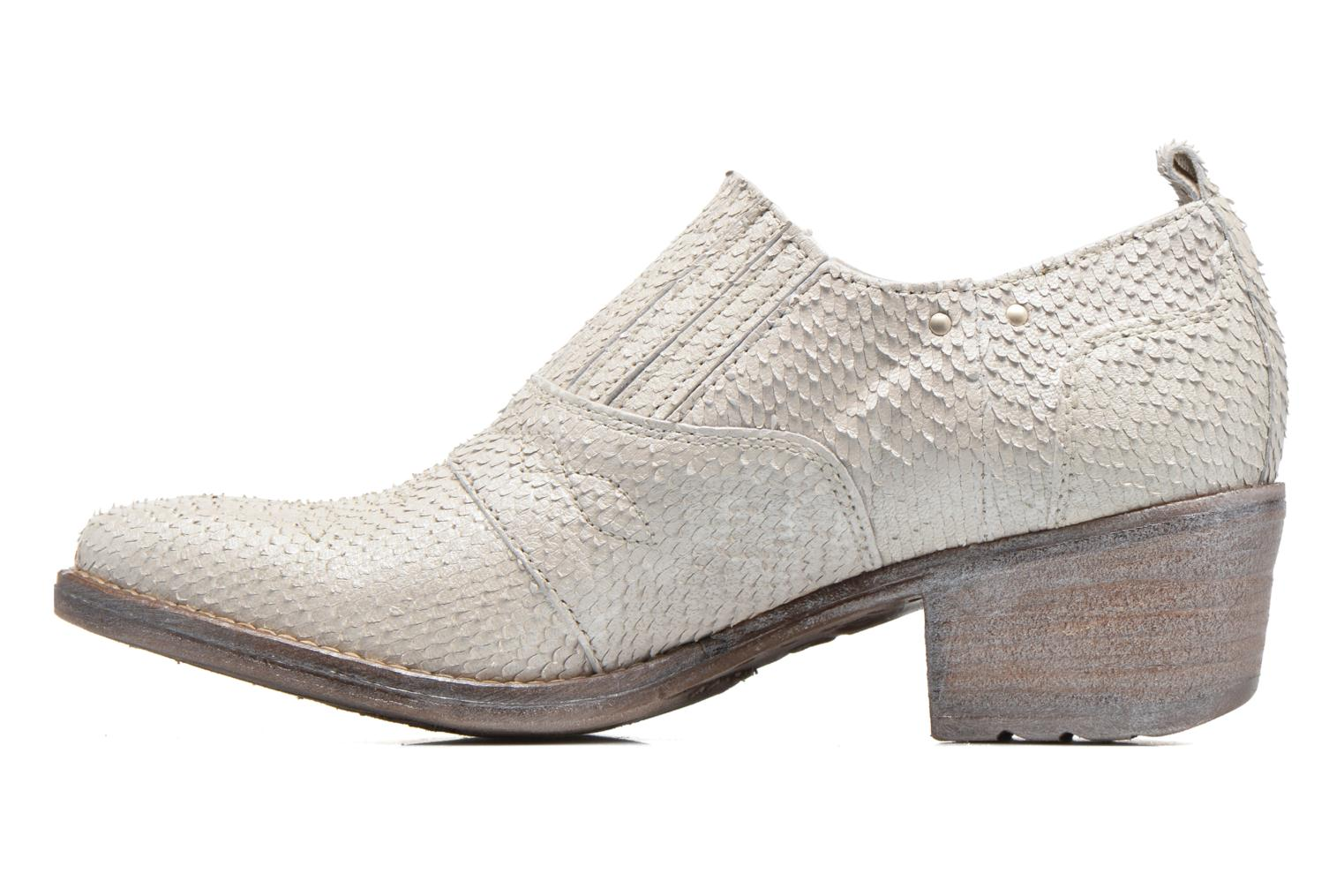 Ankle boots Khrio Fanelie Beige front view