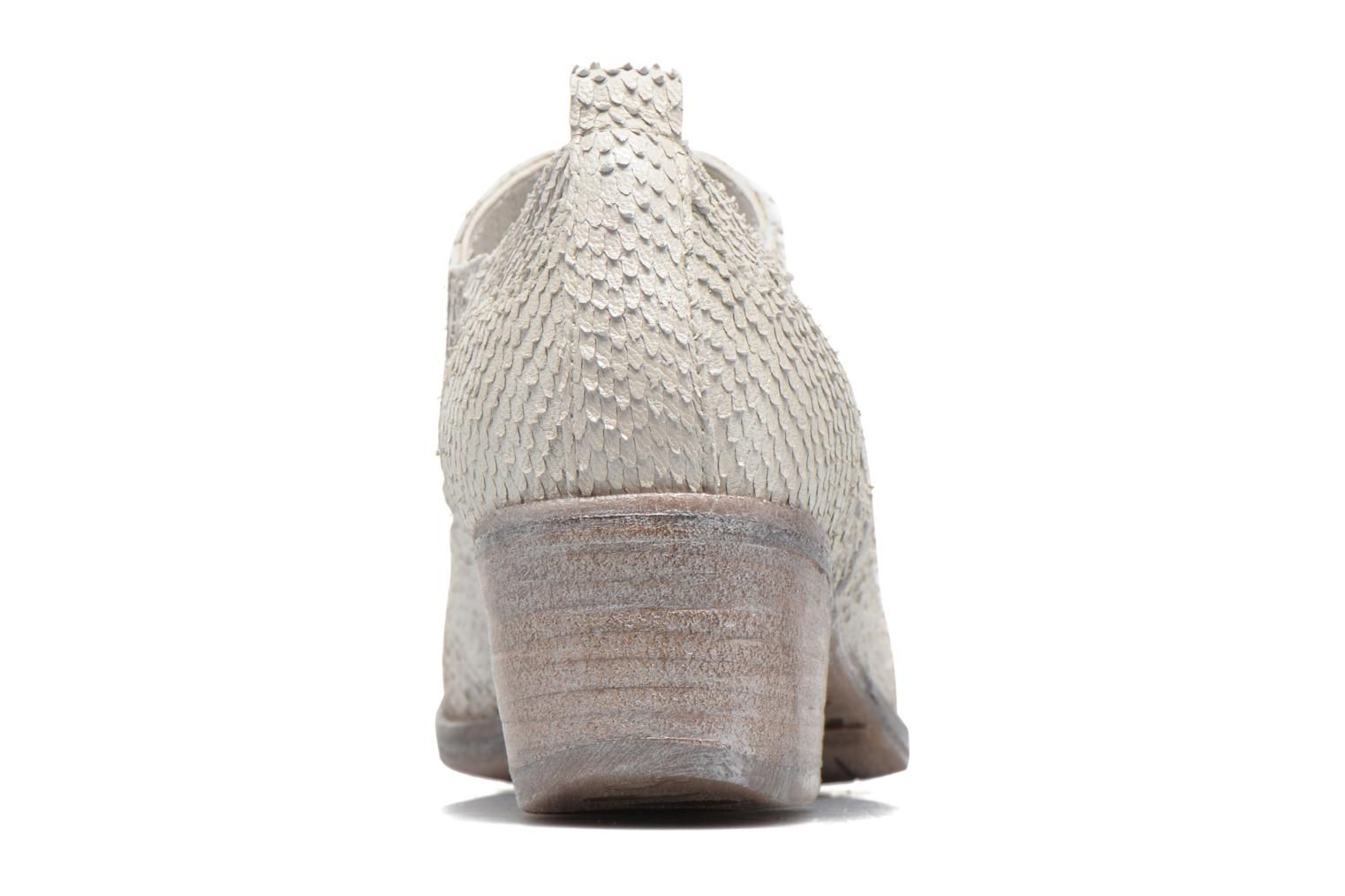 Ankle boots Khrio Fanelie Beige view from the right