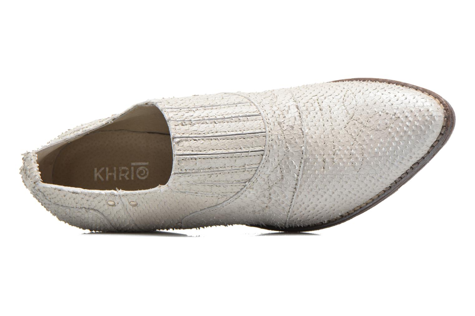 Ankle boots Khrio Fanelie Beige view from the left