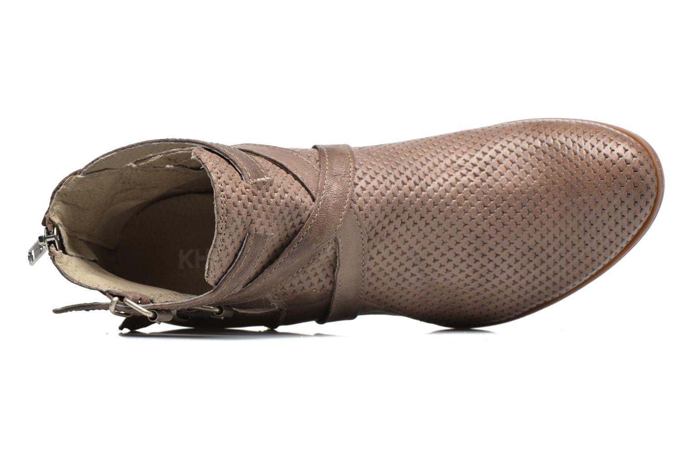 Bottines et boots Khrio Cory Marron vue gauche