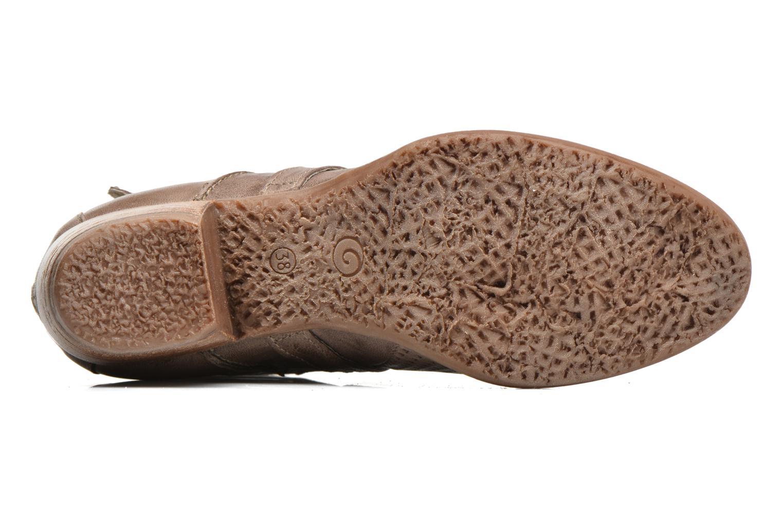 Bottines et boots Khrio Cory Marron vue haut
