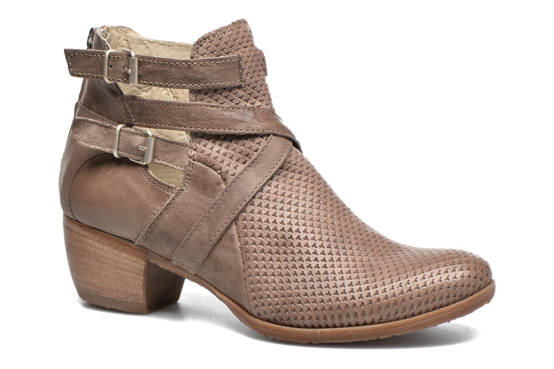 Bottines et boots Khrio Cory Marron vue détail/paire