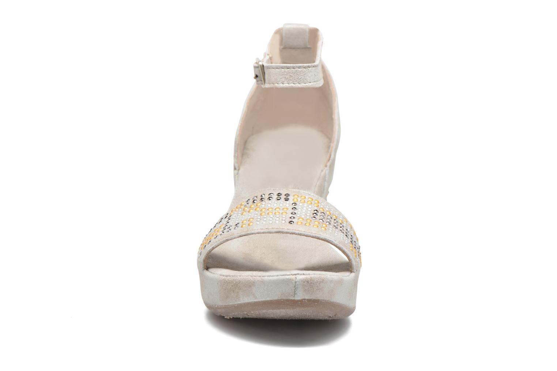 Sandali e scarpe aperte Khrio Maika Argento modello indossato