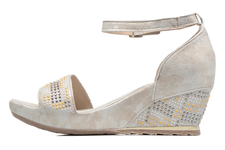 Sandali e scarpe aperte Khrio Maika Argento immagine frontale