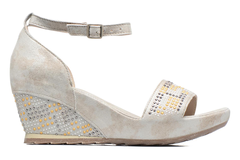 Sandali e scarpe aperte Khrio Maika Argento immagine posteriore