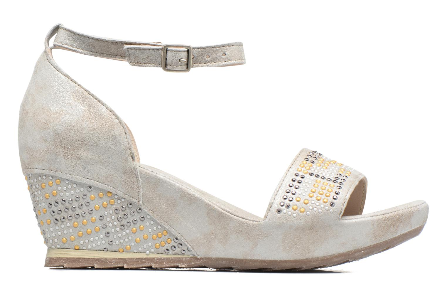 Sandals Khrio Maika Silver back view