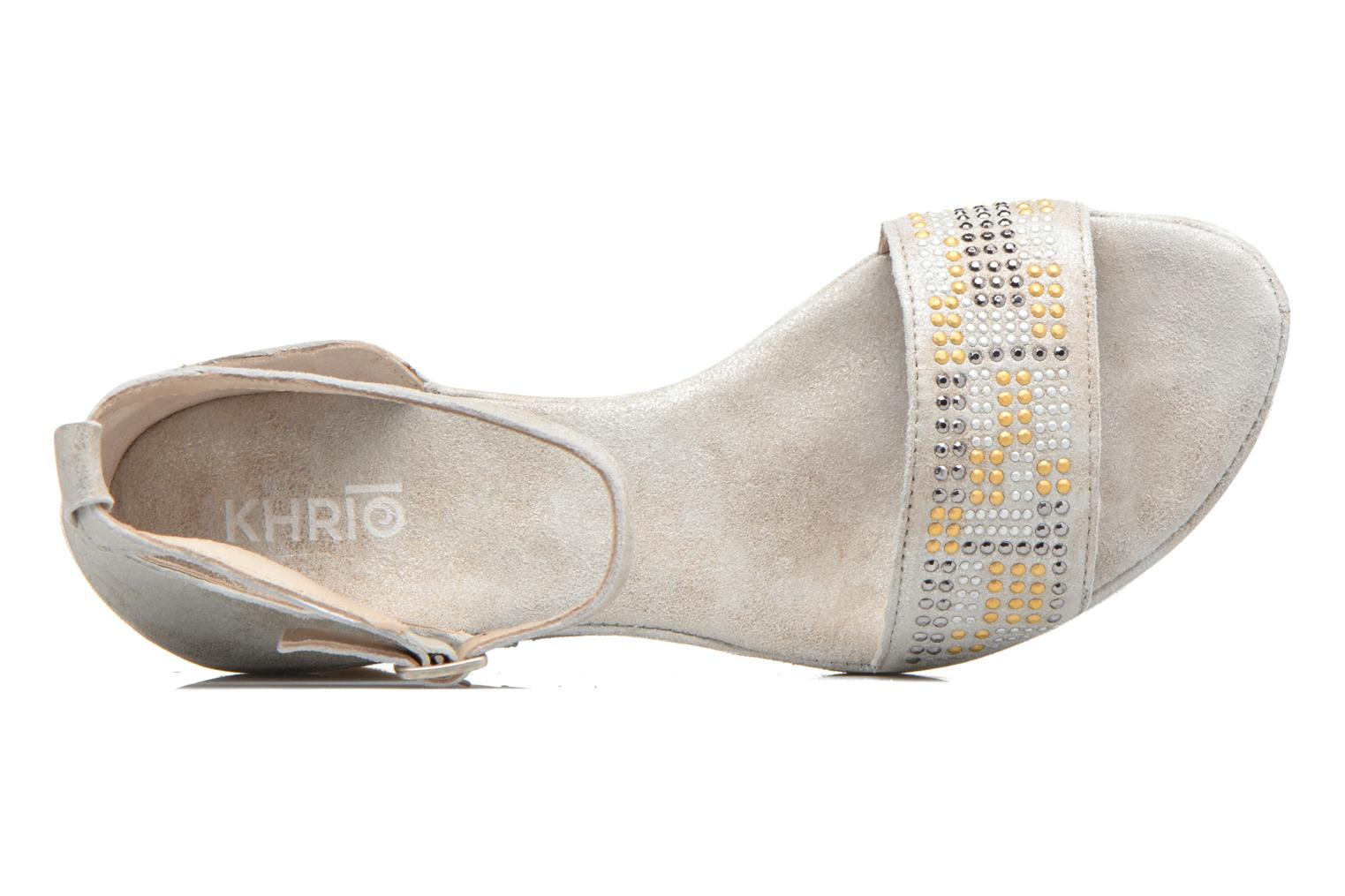 Sandals Khrio Maika Silver view from the left