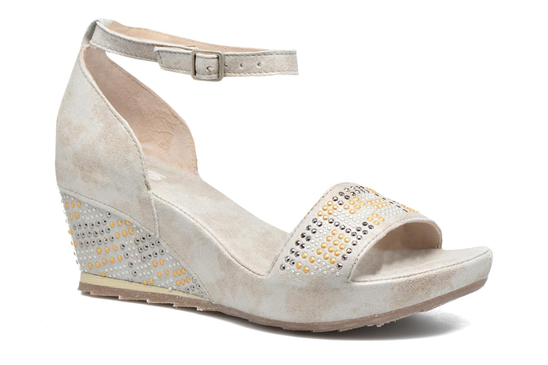 Zapatos promocionales Khrio Maika (Plateado) - Sandalias   Venta de liquidación de temporada