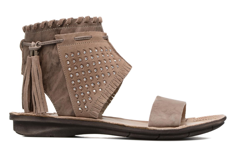 Sandali e scarpe aperte Khrio Nora Marrone immagine posteriore