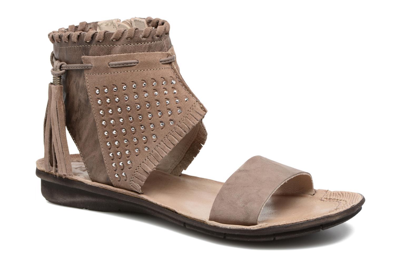 Sandales et nu-pieds Khrio Nora Marron vue détail/paire
