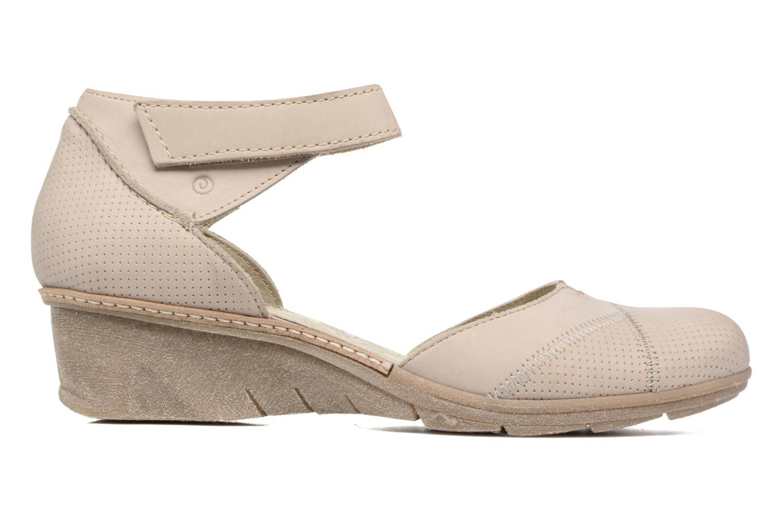 Sandales et nu-pieds Khrio Parissa Argent vue derrière