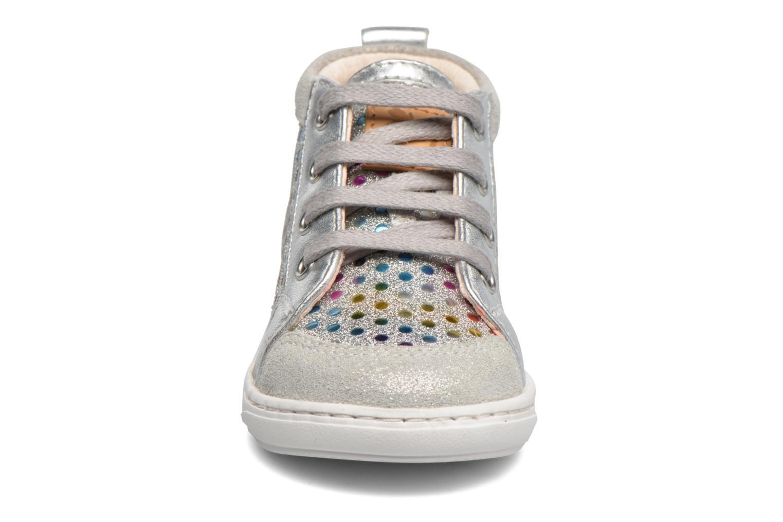 Bottines et boots Shoo Pom Bouba New Cover Argent vue portées chaussures