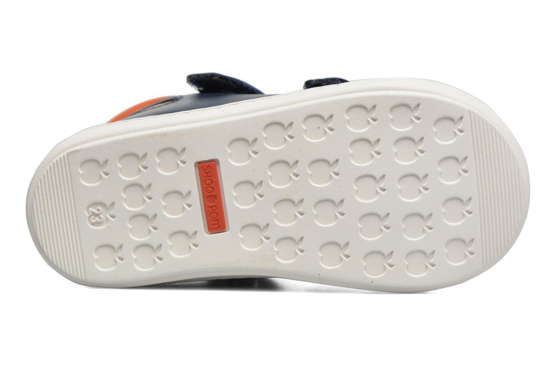 Bouba New Scratch Navy-Grey-orange
