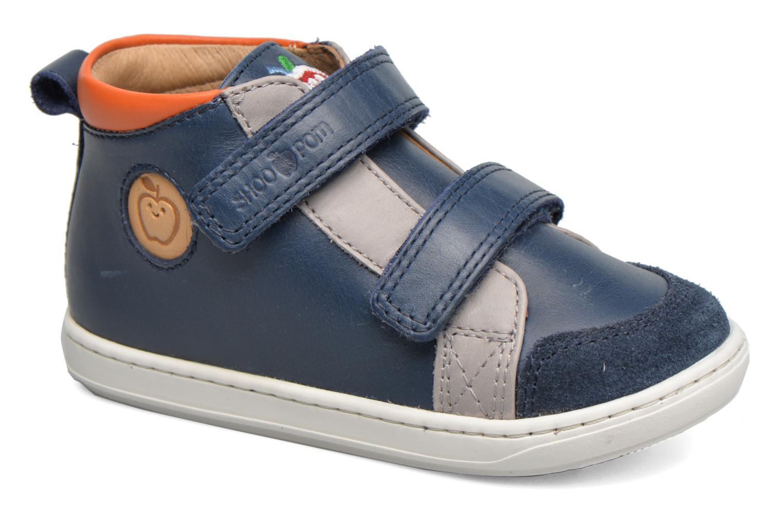 Bottines et boots Shoo Pom Bouba New Scratch Bleu vue détail/paire