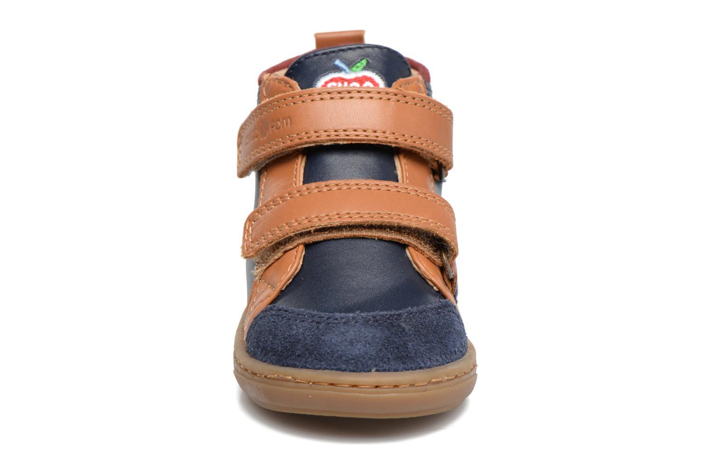 Bottines et boots Shoo Pom Bouba New Scratch Bleu vue portées chaussures