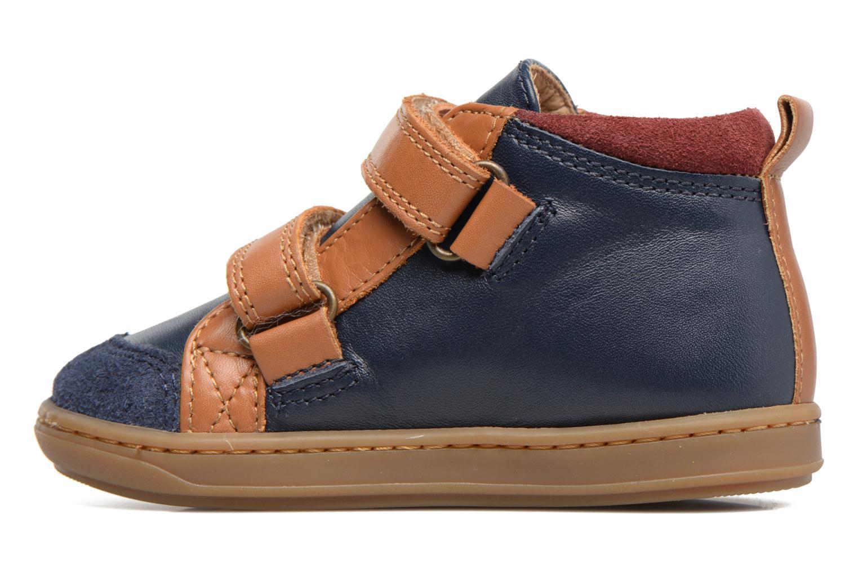 Bottines et boots Shoo Pom Bouba New Scratch Bleu vue face